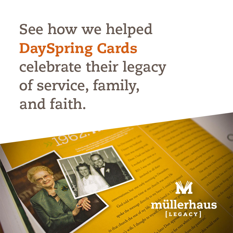 DaySpring Cards 40th anniversary book