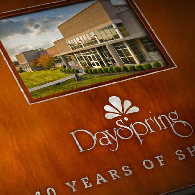 Mullerhaus Legacy's heritage management work for DaySpring Cards, Inc. 40th corporate anniversary