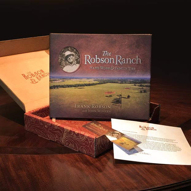 Case study for Mullerhaus Legacy's heritage management work for the Robson and Walton families and the family heritage book 'The Robson Ranch'